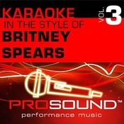 I'm Not A Girl, Not Yet A Woman (Karaoke With Background Vocals)[In The Style Of Britney Spears] Song
