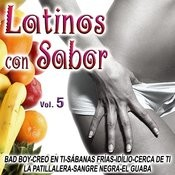Latinos Con Sabor Vol.5 Songs