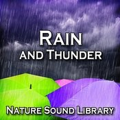 Passing Thunderstorm With Steady Rain For Peace Of Mind And Serenity Song