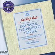 Bach: The Well-tempered Clavier, Book II (2 CDs) Songs