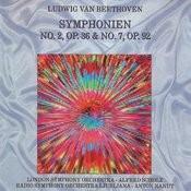 Ludwig Van Beethoven - Symphonien No. 2, No. 7 Songs