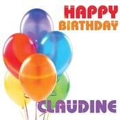Happy Birthday Claudine Songs