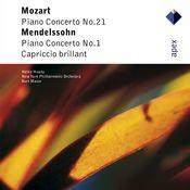 Mozart & Mendelssohn : Piano Concertos (-  Apex) Songs