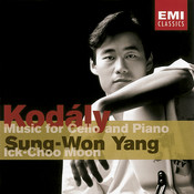 Kodaly : Works For Cello & Piano Songs