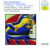 Rachmaninov Paganini Rhapsody 6 Preludes Corelli Variations Songs