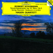 Schumann String Quartet Op 41 Nos 2 Songs