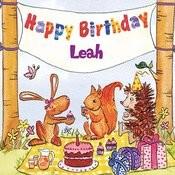 Happy Birthday Leah Songs