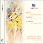 Dvorak: Slavonic Dances / Massenet: Le CID / Meyerbeer: Les Patineurs Songs