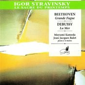 Stravinsky: Le Sacre Du Printemps - Beethoven: Grande Fugue, Et Al. Songs