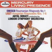 Enesco: Roumanian Rhapsody No.1 / Liszt: Hungarian Rhapsodies Nos.1-6 Songs