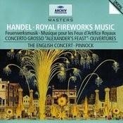 Handel: Music for the Royal Fireworks Songs