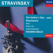 Stravinsky: The Soldier's Tale; Divertimento etc Songs