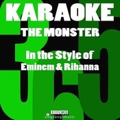 The Monster (In The Style Of Eminem & Rihanna) [Karaoke Instrumental Version] Song