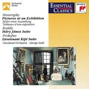 Mussorgsky: Pictures At An Exhibition; Kodly: Hary Jnos Suite; Prokofiev: Lieutenant Kij Suite Songs