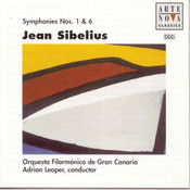 Sibelius: Sym. No. 6 and No. 1 Songs