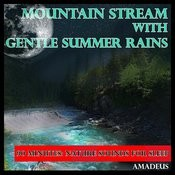 Nature Sounds For Sleep: Mountain Stream With Gentle Summer Rains: Songs