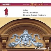 Mozart: Arias, Vocal Ensembles & Canons - Vol.1 (Complete Mozart Edition) Songs