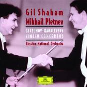 Glazunov Kabalevsky Violin Concertos Songs