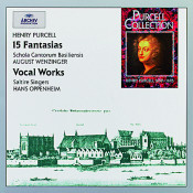 Purcell 15 Fantasias Songs