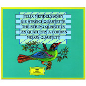 Mendelssohn The String Quartets Songs