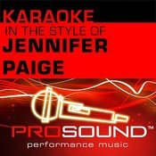These Days (Karaoke Instrumental Track)[In The Style Of Jennifer Paige] Song