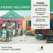 Pierre Vellones: Pieces Pour Piano Songs