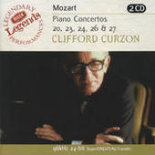 Mozart: Piano Concertos Nos.20,23,24,26 & 27 (2 CDs) Songs