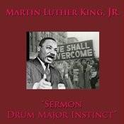 Sermon: Drum Major Instinct Song