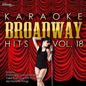 Karaoke Broadway Hits Vol. 18 Songs