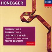 Honegger: Symphonies Nos.2 & 4; Une Cantate De Noel Songs