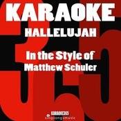 Hallelujah (In The Style Of Matthew Schuler) [Karaoke Version] - Single Songs