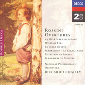 Rossini: 14 Overtures Songs