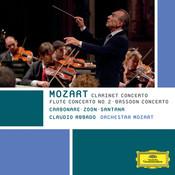 Mozart: Clarinet Concerto; Flute Concerto No. 2; Bassoon Concerto Songs