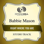 Right Where You Are (Studio Track) Songs