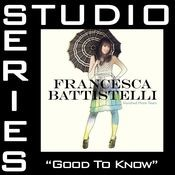 Good To Know (Studio Series Performance Track) Songs