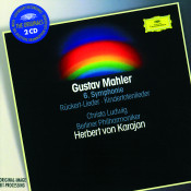 Mahler Symphony No 6 In A Minor Ruckert Lieder Kindertotenlieder Songs