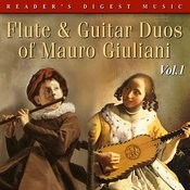 Reader's Digest Music:  Flute & Guitar Duos Of Mauro Giuliani Volume 1 Songs