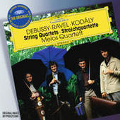 Debussy / Ravel / Kodály: String Quartets Songs