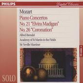 Mozart: Piano Concertos No.21 & 26 Songs