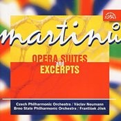 Martinu: Opera Suites And Excerpts /Theatre Behind The Gate, Comedy On The Bridge, The Three Wishes, Mirandolina) Songs