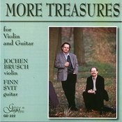 More Treasures For Violin And Guitar Songs