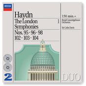 Haydn: The London Symphonies - Nos. 95, 96, 98 & 102 - 104 Songs