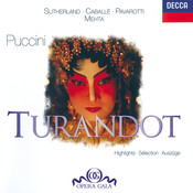 Puccini: Turandot - Highlights Songs