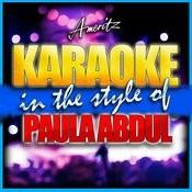 Karaoke - Paula Abdul Songs