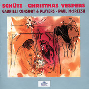 Schütz: Christmas Vespers Songs