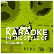 Karaoke (In The Style Of Paramore) Songs