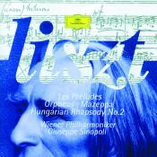 Liszt: Les Préludes; Orpheus; Mazeppa; Hungarian Rhapsody No.2 Songs