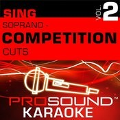 Competition Cuts - Soprano - Pop/Rock (Vol. 2) Songs