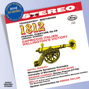 Tchaikovsky: 1812 Overture etc Songs