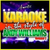 Karaoke - Andy Williams Vol. 2 Songs